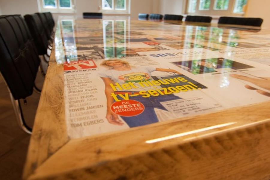Projecten met epoxy epoxy tafel laten maken van abbevé hout